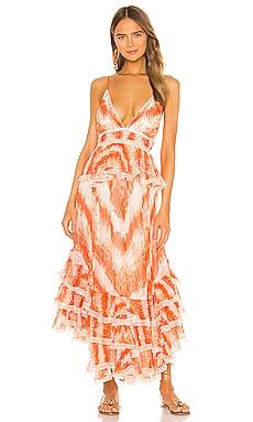 Roma Dress ROCOCO SAND $699 NEW