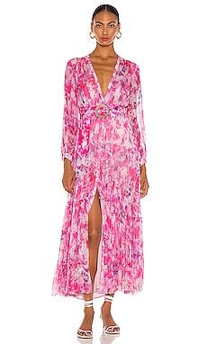 Макси платье hikari - ROCOCO SAND В цветочек фото