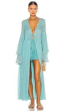 Lurex Kimono ROCOCO SAND $382