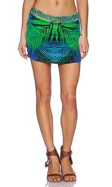 ROCOCO SAND Printed Skirt in Night Jungle