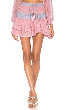 Star Mini Skirt ROCOCO SAND $220