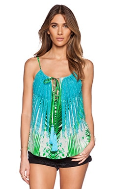 ROCOCO SAND Tank Top in Day Jungle Print