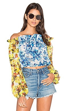 Romantic Florals Top