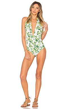 Romantic Floral One Piece