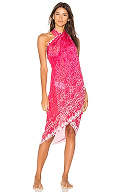 Embroidered Sarong in Pink