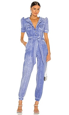 Lia Jumpsuit retrofete $590 NEW