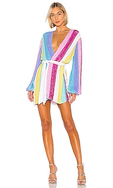 ROBE DRAPÉE GABRIELLE retrofete $635 BEST SELLER