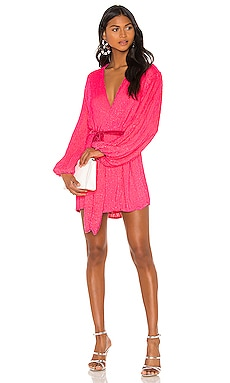 x REVOLVE Gabrielle Robe Dress retrofete $615
