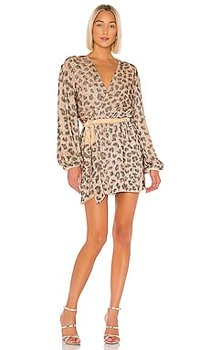 Gabrielle Robe Dress retrofete $685 NEW ARRIVAL