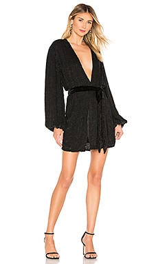 Gabrielle Robe Dress retrofete $615 BEST SELLER