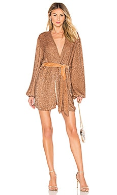 ROBE GABRIELLE ROBE retrofete $615 BEST SELLER