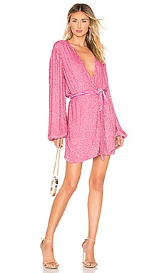 Gabrielle Robe Dress retrofete $615