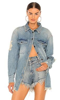 Doreen Shirt retrofete $295 NEW