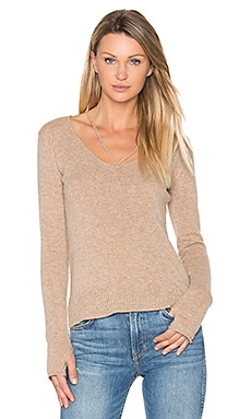 Strappy V Neck Sweater