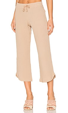 Pull On Pant in Tan