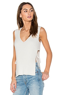 Side Tie Shell Top