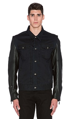 Roland Sands Design Honcho Jacket in Indigo & Black