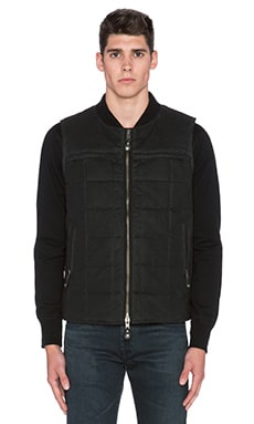 Roland Sands Design Ringo Vest in Black