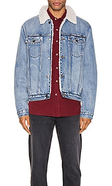 Denim Sherpa Jacket ROLLA'S $179