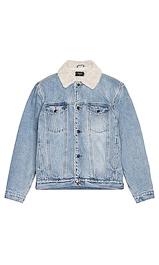 Denim Sherpa Jacket ROLLA'S $189