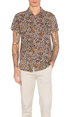 Black Floral Shirt
