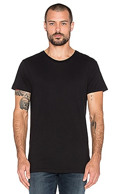 ROLLA'S Coast Tee in Sand Black
