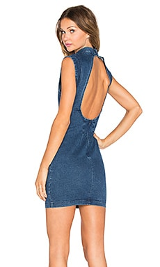 ROLLA'S Blue Rain Dress in Stone Blue