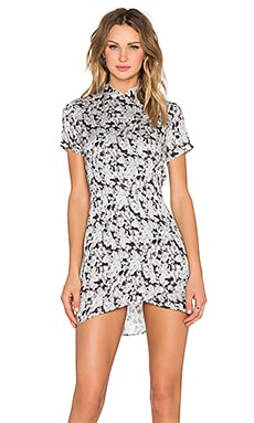 ROLLA'S Bones Dress in Black Floral