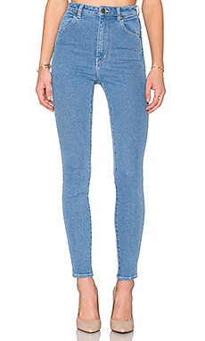 ROLLA'S East Coast Ankle Skinny in Stevie Blue