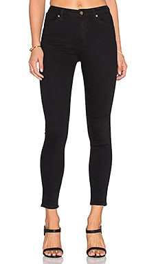 ROLLA'S West Coast Ankle Skinny in Black Rain