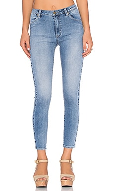 ROLLA'S Crop Skinny in Avalon Blue