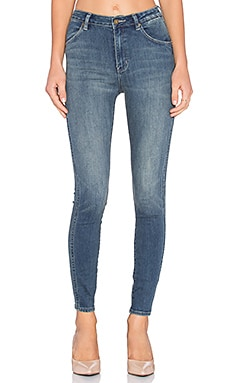 ROLLA'S West Coast Ankle Skinny in Pub Blue