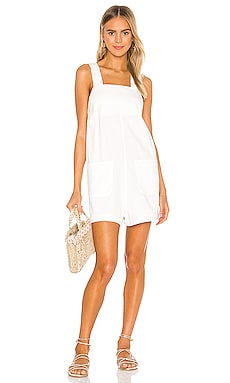 Sailor Linen Playsuit ROLLA'S $109