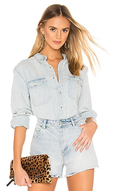 Slouch Denim Shirt ROLLA'S $47