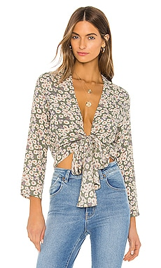 Delilah Daisies Blouse ROLLA'S $71