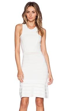 Ronny Kobo Hase Dress in White