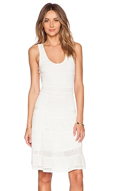 Ronny Kobo Karynn Dress in White