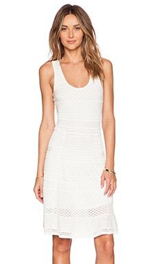 Ronny Kobo Karynn Dress in White