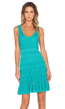 Ronny Kobo Karynn Dress in Aqua