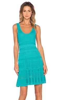 Ronny Kobo Karynn Dress in Aqua