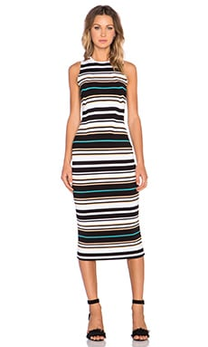 Ronny Kobo Janessa Dress in Stripe Multi