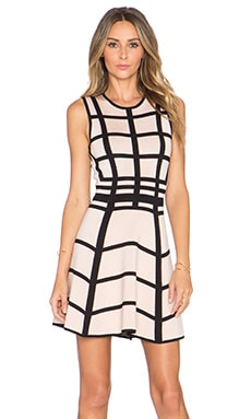 Ronny Kobo Hilda Dress in Quartz & Black
