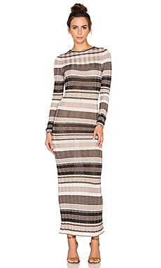 Ronny Kobo Hazel Dress in Neutral Combo