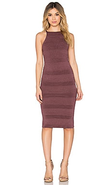 Ronny Kobo Janie Dress in Roseberry