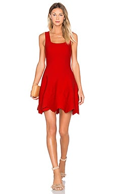 Ronny Kobo Annika Dress in Vermillion