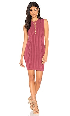 Zola Dress in Mauve