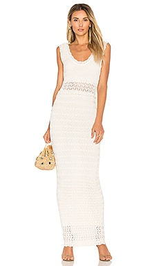 Noria Maxi Dress in Ivory