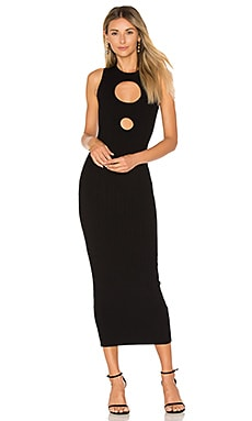 Julianne Maxi Dress in Black