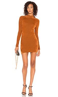 Фото - Платье verde - Ronny Kobo тёмно-оранжевого цвета