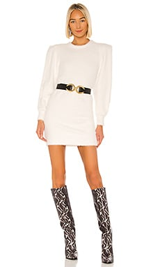 Faux Angora Sisilia Dress Ronny Kobo $328